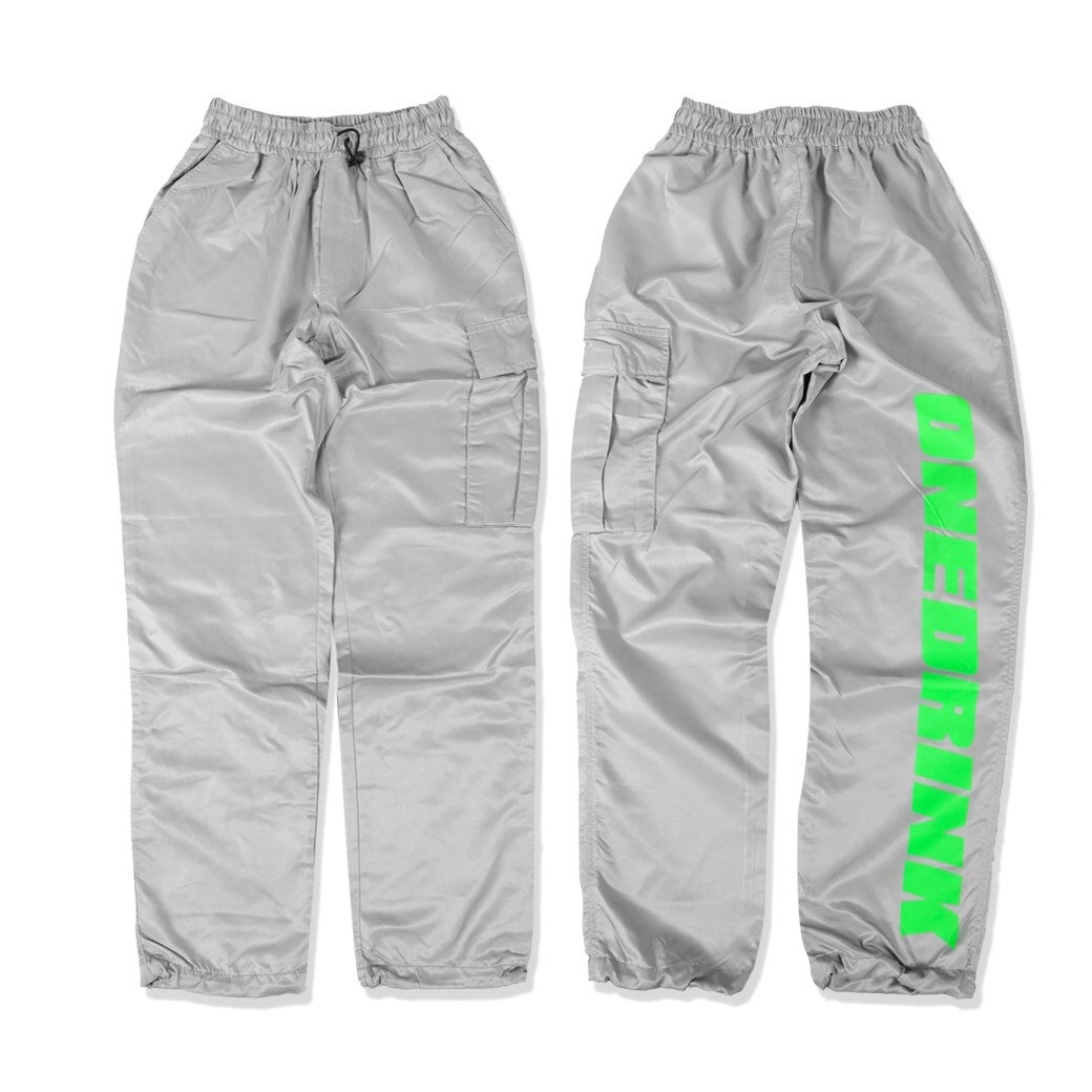 ONEDRINK JUST ONEDRINK PANTS GREY/GREEN