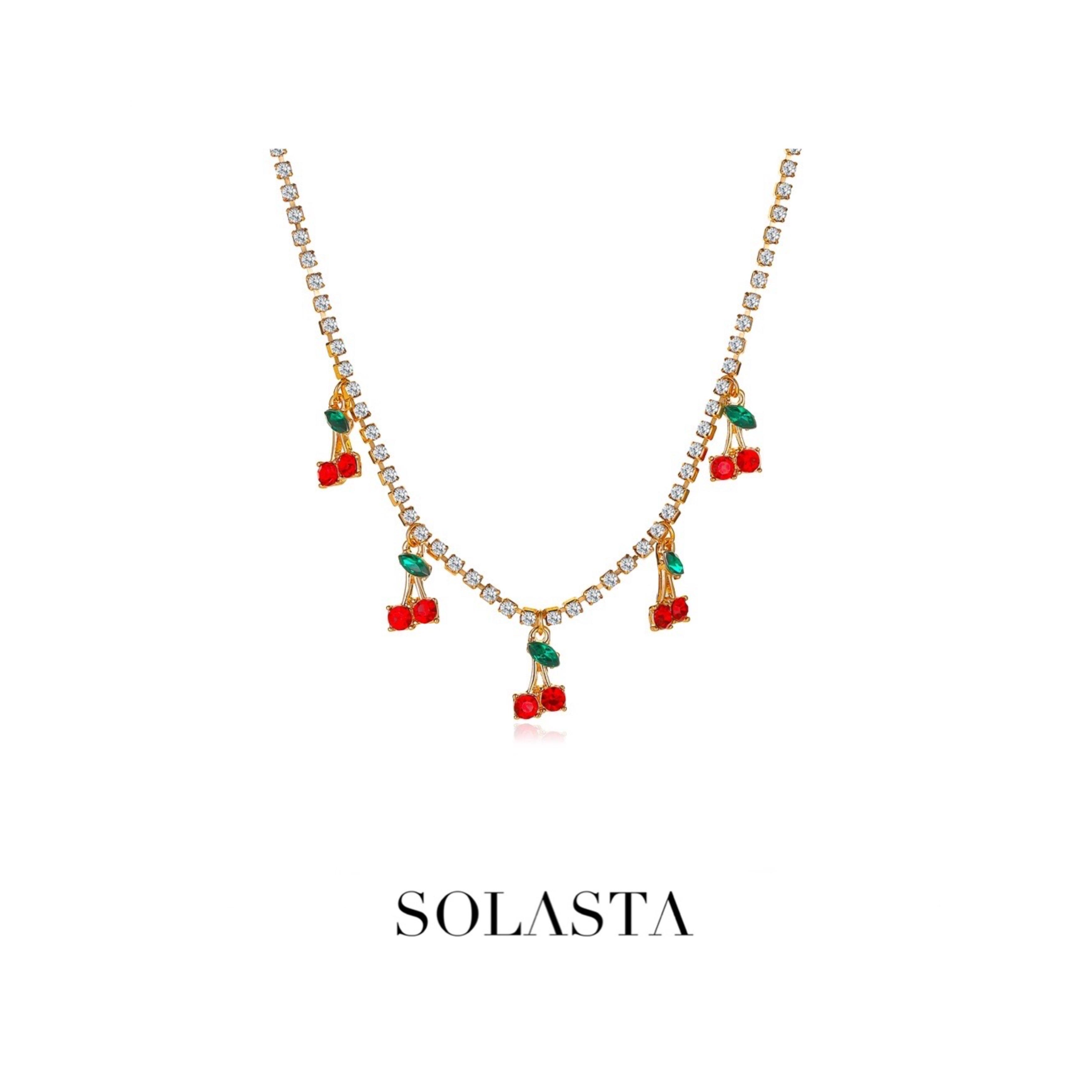 SOLASTA - CHOKER CHERRY
